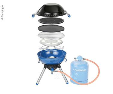Gasgrill, Party-Grill®400 mit Wok-Funktion, 50mbar - Art.-Nr. 914454