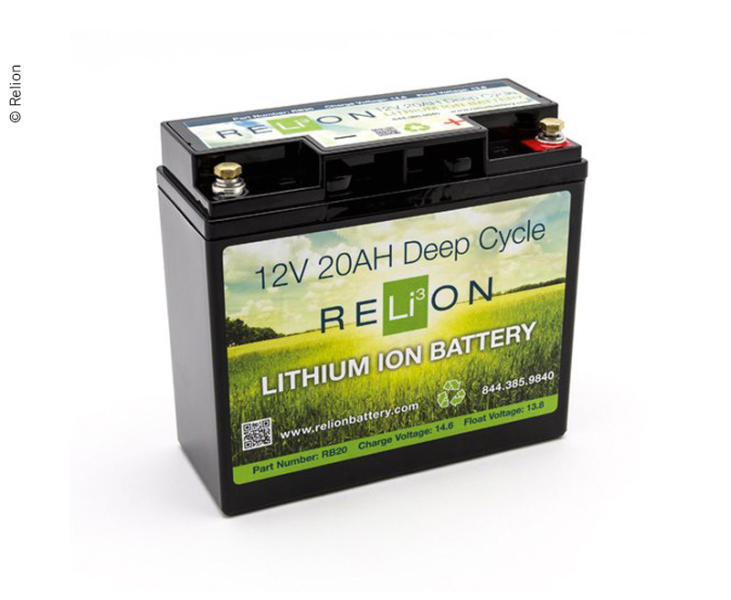 Power Set Relion 20Ah Lithium Ionen Batterie (#814011) AGM